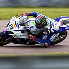 British Superbike rider John Hopkins by Andrew Harker