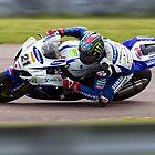 British Superbike rider John Hopkins by Andrew Harker