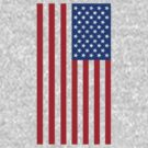Star Spangled Banner - Blue/Red by paperboyjim