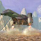 Spaceship . . .  by Carol and Mike Werner