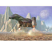 Spaceship . . .  Photographic Print