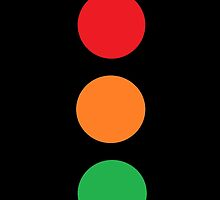 Traffic lights iPhone case by Andrew Turley