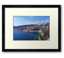 Villefranche  Bay II Framed Print