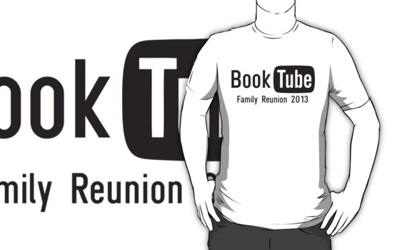 BookTube T-Shirt by RogueWeasley