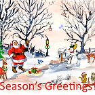Season&#x27;s Greetings to you! by Maree Clarkson