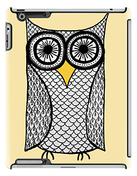 iPad Owl by eleveneleven