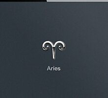 Apple Smart Phone Style with Astrology Aries Sign | by scottorz