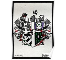 Criminal Coat of Arms- White Poster