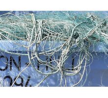 Ropes And Nets Bridlington 2 Photographic Print