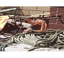 Sea Gear Photographic Print