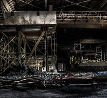 Industrial steel complex. - 2 by Ian Hufton
