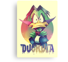 Count Duckula Metal Print