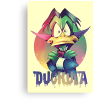 Count Duckula Canvas Print