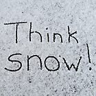 Think snow by Nicole Gushue