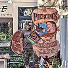 The Bearded Lady - Provincetown Massachusetts by Debbie Pinard