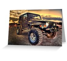 Rubicon Greeting Card