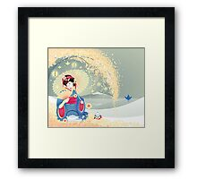 Turning Japanese Framed Print