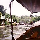 River Kwai Village by dolphinandcow