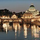 ROD CHASE, The basilica, ROME, Italy by fine-art-prints