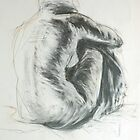 Kazart Nude Back Life Sketch 2 by Karen Sagovac