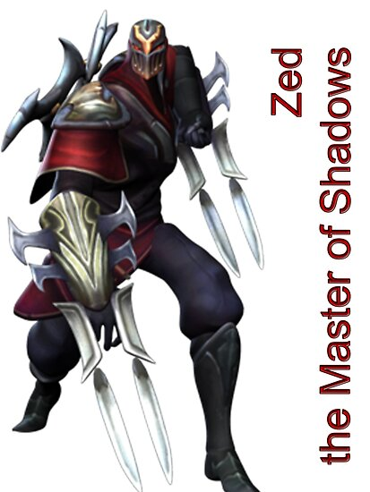 Zed - The Master Of Shadows by Raziieal