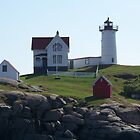 Cape Neddick / Nubble Light by MarquisImages