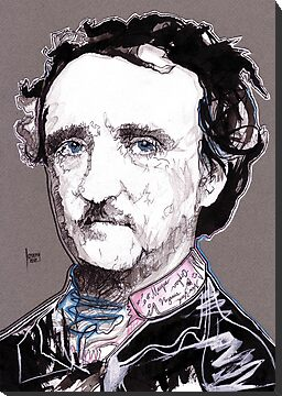 Decomposition IX - Edgar Allan Poe by Joseph Walrave
