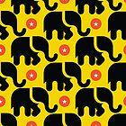Circus Elephants by Carol-Anne Ryce-Paul
