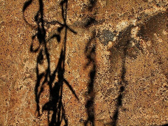Rock Shadows ! by Elfriede Fulda