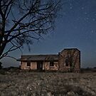 Booleroo North Abandoned Homestead in Moonlight by pablosvista2
