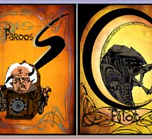 Creatures of Farscape by spritelady