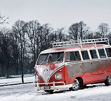 Red White Splitty by Steve Sharp