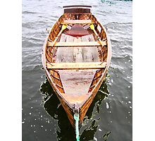 Row Boat Number 2 Hornsea Mere (or CIRCE) Photographic Print