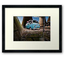 """""""Gadget Bus"""" Framed Print"""
