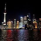 Night in Pudong, Shanghai by DaveLambert