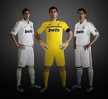 Real Madrid New Uniforms, KAKA, ... by fine-art-prints