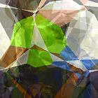 Abstract Polygons 220 by Christopher Johnson