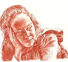 Portrait of Annah by dbclemons