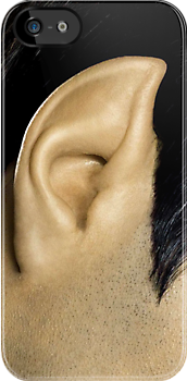 Mr Spock Ear - iPhone 5, iphone 4 4s, iPhone 3Gs, iPod Touch 4g case by Pointsale store.com