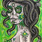 Medusa De Muertos by rawjawbone