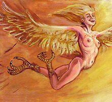 Harpy for a New Dawn by rawjawbone