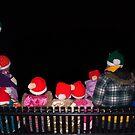 Family of Santa Hats` by Penny Rinker