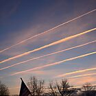 Lines In The Sky v.2 by Brandon Holsey