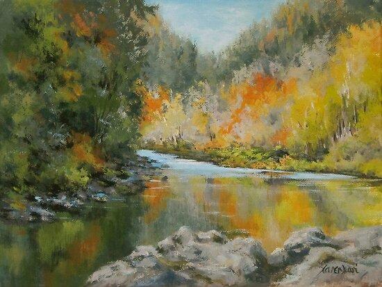Umpqua Autumn by Karen Ilari