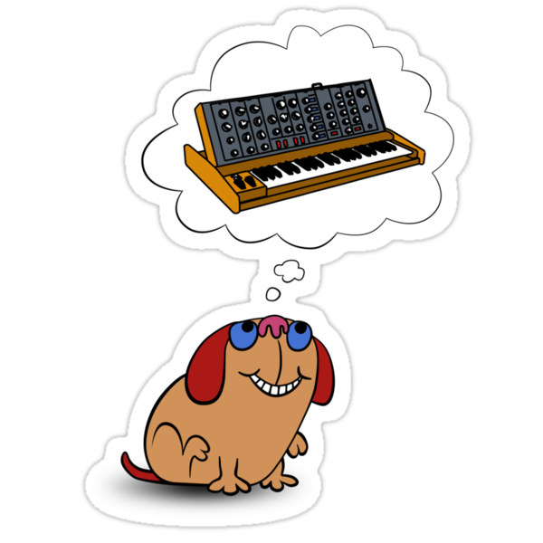 The Moog thinks of Moog by mikiex