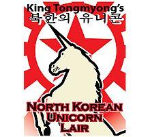 North Korean Unicorn Lair Photographic Print