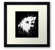 The One They Call Snow Framed Print
