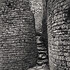 Stairway in the Hill Complex at Great Zimbabwe by Adrian Park