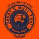 Sagat's Muay Thai by johnbjwilson