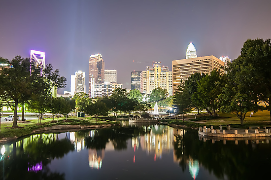 charlotte north carolina by Alexandr Grichenko
